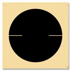Zielscheibe MF6R3 gedrucktes Scheibenbild für Schnellfeuer Pistole