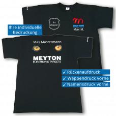 Meyton T-Shirt mit Aufdruck